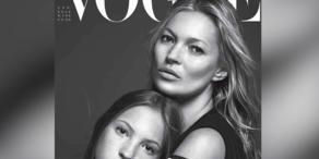 Fashion Week: Kate Moss zeigt Tochter