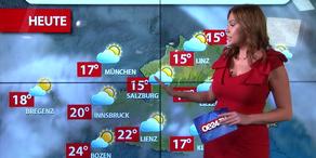 Aktuelle Wetterprognose für Montag (25.9.)