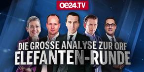 Die große Analyse zur ORF-Elefantenrunde