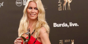 Fashion-Bambi für Claudia Schiffer
