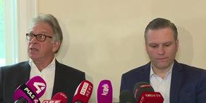 Pressekonferenz zum Fall des toten Rekruten