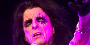 Alice Cooper rockt Wiener Stadthalle