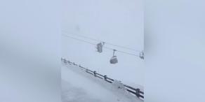 Rekord-Orkan fegt über Österreich