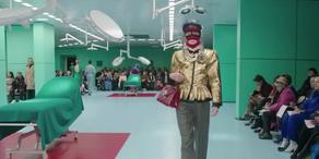 Gucci: Schräge Fashion-Show