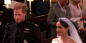 Royale Traumhochzeit: Meghan & Harry sagen