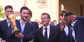 Frankreich: Große Party mit den Weltmeistern