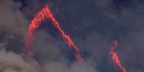 Waldbrand bedroht Nationalpark