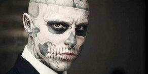 Trauer um Kult-Model: Zombie Boy ist tot