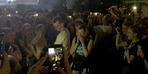 Heiratsantrag bei Ed Sheeran Konzert