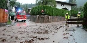 Massive Unwetter verursachen Schäden