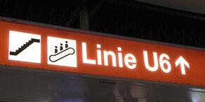U6-Stationen bekommen Einstiegsanleitung