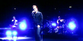 U2: Bono musste Konzert abbrechen