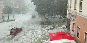 Starkregen in ganz Österreich