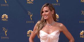 Heidi Klum: Glamourös bei den Emmy-Awards