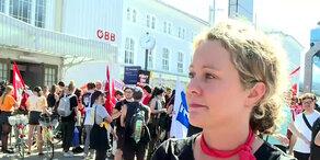 EU-Gipfel: Interview mit Organisatorin der Gegen-Demo