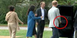Köstlich: Prinz Harry klaut Essen