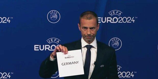 EM 2024 findet in Deutschland statt