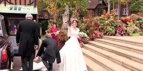 Royale Hochzeit: Die Ankunft der Braut