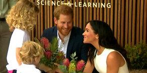 Royals: Meghan & Harry verzaubern Australien