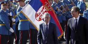 VdB: Präsident auf Besuch in Serbien