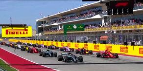 WM-Entscheidung vertagt: Räikkönen siegt in Austin