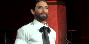 Conchita: Tränenreiches Konzert