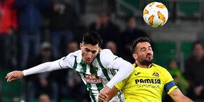 Heimremis von Rapid gegen Villarreal