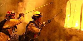 Feuer-Hölle: Waldbrände wüten in Kalifornien