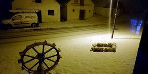 Schnee-Chaos: Der Winter ist nun richtig da