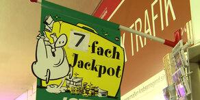Lotto: Erster Siebenfach-Jackpot in der Geschichte