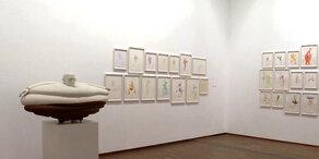 Erwin Wurm: Ausstellung in der Albertina