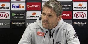 Rapid: Pressekonferenz vor Rangers-Spiel