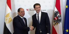 Riesen-Wirbel um al-Sisi-Besuch
