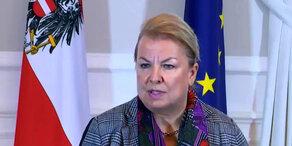 Ministerrat: Statement von Hartinger-Klein