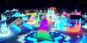 Größtes Schnee- und Eisfestival der Welt