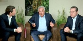 Fellner! Live: Kurz und Strache im großen Interview