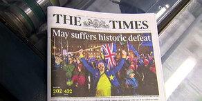 Brexit: Vernichtendes Presse-Echo