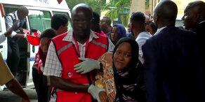 Anschlag in Nairobi: 15 Tote