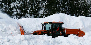 Schnee: Katastropheneinsatz am Hochkar