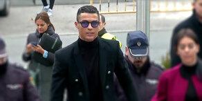 Steuerhinterziehung: Mega-Strafe für Ronaldo