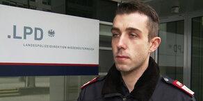 Mann ersticht Ehefrau: Polizei im Interview