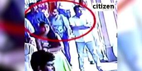 Schock-Video: Attentäter betritt die Kirche