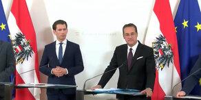 Ministerrat: Statements aus dem Bundeskanzleramt