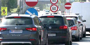 Mega-Stau nach Verkehrsunfall auf der A23