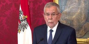 Bundespräsident Van der Bellen zur Regierungskrise