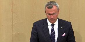 Misstrauensantrag: Rede von Norbert Hofer