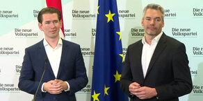 ÖVP: Pressekonferenz zu