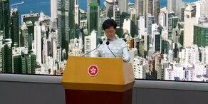 Hongkong: Regierungschefin soll Posten räumen