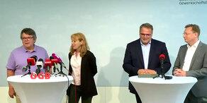 ÖGB: Präsident Katzian präsentiert neues Team