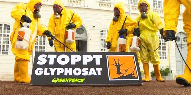 Greenpeace Glyphosat